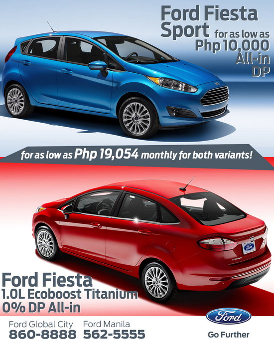Fiesta 4  sc 1 st  The Autohub Group : ford cars price list philippines - markmcfarlin.com