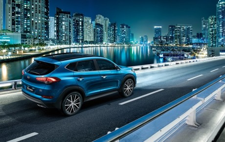 Third Generation Hyundai Tucson delivers dynamic performance and comfort