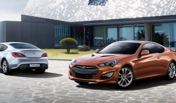 Hyundai Genesis Coupe full