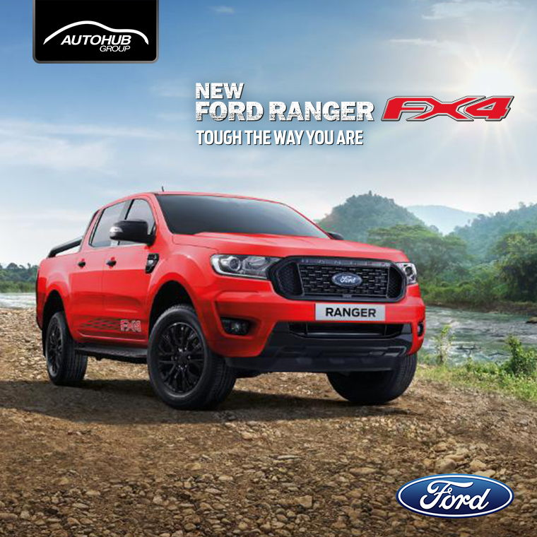 Ford Raptor Red Philippines - Autohub Group Mobile