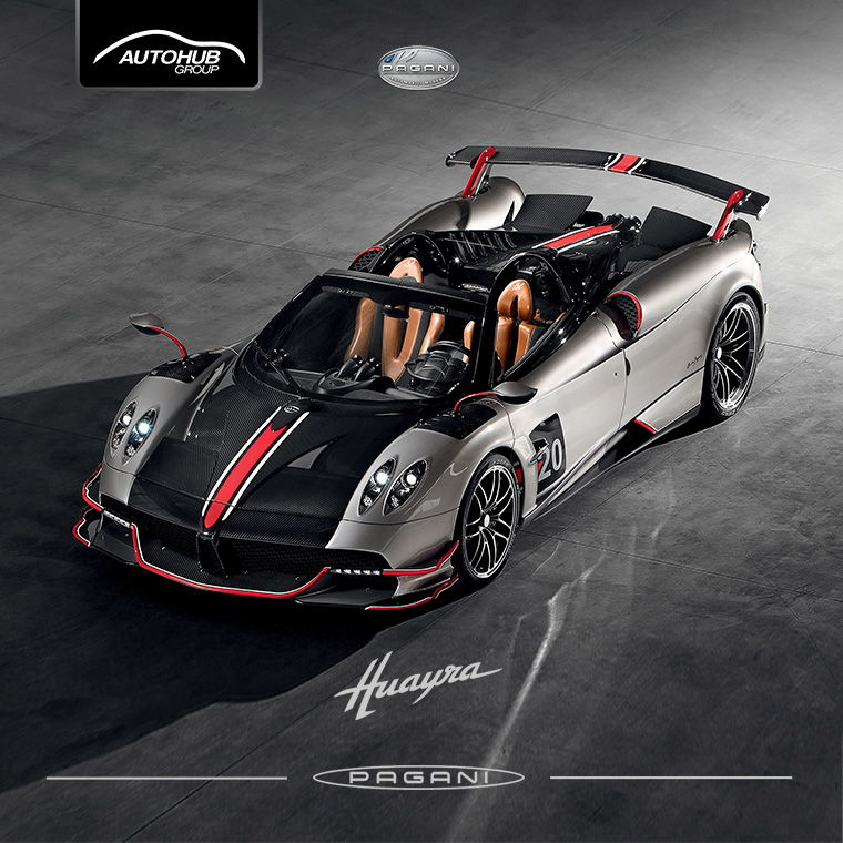 Huayra Grey Pagani Philippines - Autohub Group Mobile
