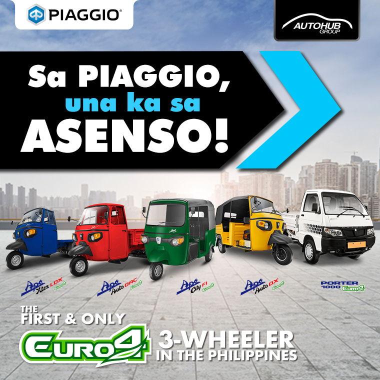 Piaggio APÉ Omnibus Philippines - Autohub Group Mobile