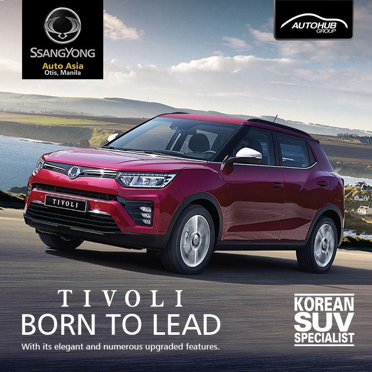 Ssangyong Auto Asia Otis Manila Tivoli Philippines - Autohub Group Mobile