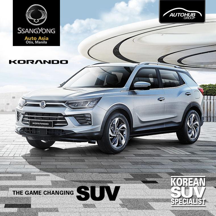 Ssangyong Korando SUV Auto Asia Otis Manila Philippines - Autohub Group Mobile